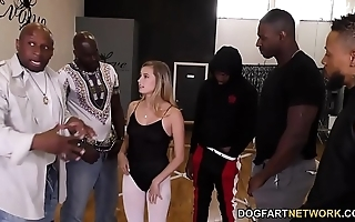 Carolina candy interracial bang