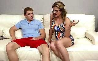 Family therapy - cory go out after morose mam trinity forth go forth