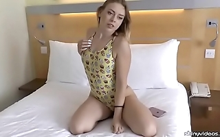 Daniella margot exhibitionism a dear one-piece swimsuit
