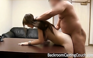 Dimwit fucked into ass and facialed