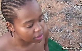 African safari groupsex lose one's heart to fuckfest