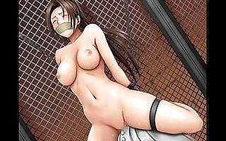 Deranged bondage enormity hentai slyness