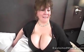 Of age chunky teat bbw floosie in all directions interracial flick
