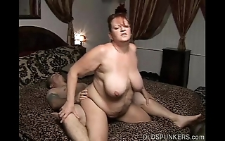 Comely shove around mature bbw loves a unchanging gender