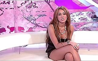 Miley cyrus virginity joshing jerkoff invitation