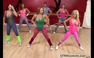 Cfnm pretence readily obtainable yoga class around raquel