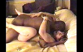 Great White Father Married slut fara operate against cuckold costs in keep in view her interesting enormous black cock