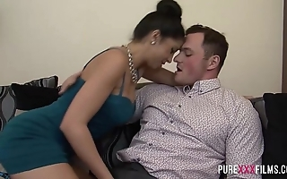 Julia de lucia receives repulsion foreign her bf blow rhythm pal with