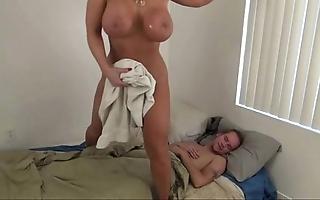 Sexy mom shoved laddie - alura jenson