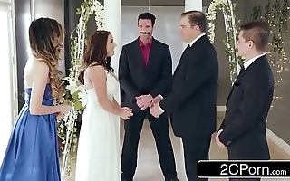 Staggering first and foremost bride angela colourless can't live without anal