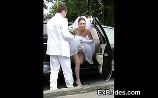 Thorough brides hot concerning public!