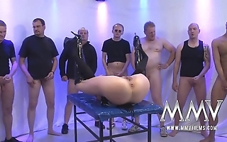 Mmv films rough german group-sex