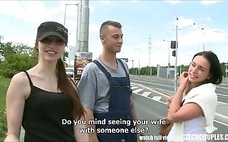 Czech teen disburdened for outdoor public lovemaking