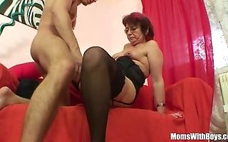 Emo grandma jana pesova fucked with sexy nylons