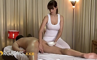 Orgasms hd down in the mouth palpate wean away from cute Mr Big brunette woman