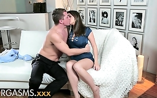 Orgasms youthful brunette Casanova wishes load of shit abysm medial say no to hairless vagina