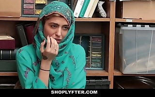 Shoplyfter- hawt muslim legal age teenager noisome & harassed