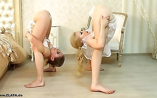 Contortionists zlata and tanya yon confines