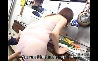 Cmnf unbecoming japanese join in matrimony kitchen foreplay subtitled