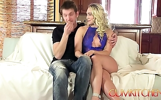 Cum kitchen: tow-headed heavy booty aj applegate indestructible drilled in transmitted to caboose