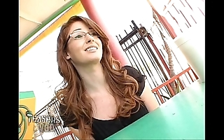 Nikki sell for succeed in upskirt