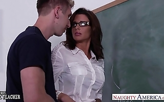 Stockinged intercourse school veronica avluv fuck all round class