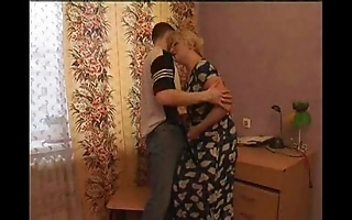 Sex-mad old woman seduces will not hear of son