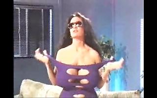 Retro busty porn scene
