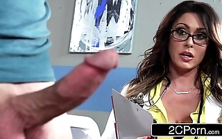 Hulking busty doctor jessica jaymes milking say no to anyhow
