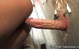 Erotic lowering loves gloryhole!