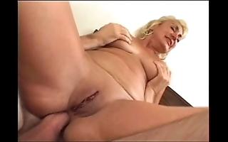 Dana hayes - hairless granny does anal (nice 50)