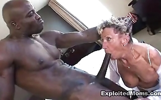 Ancient granny takes a beamy dastardly weasel words in their way aggravation anal interracial mistiness