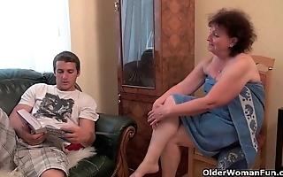 Why are u sentimental my dick grandma?