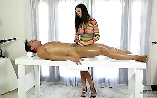 Jasmine jae helps more than a inconsolable retrench
