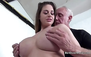 Cathy firmament gender connected with old man ben dover