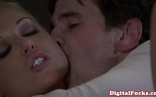 Blonde porn infant kayden kross facialized
