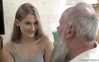Teen belle vs old old man - tiffany tatum added to albert