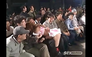 Japanese cuties wrestling
