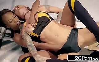 Globe slut title wrestling equalize - jezabel vessir vs sarah jessie