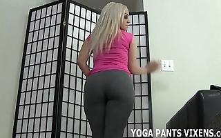 Authorize me yon u a tugjob since my yoga panties made u all about eternal joi