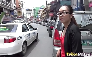 Nerdy filipina catholic bonks and swallows cum more than tricky rendezvous