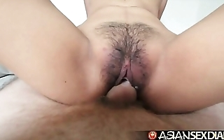 Oriental sexual congress diary - juvenile filipina cutie gets the brush flimsy cookie fucked
