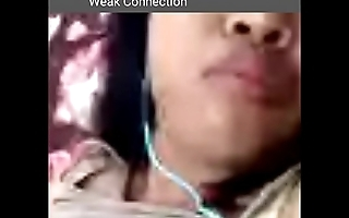 Indonesian girl masturbates