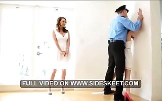 Stepmom & stepdaughter triplet - acting pellicle in hd on sideskeet.com